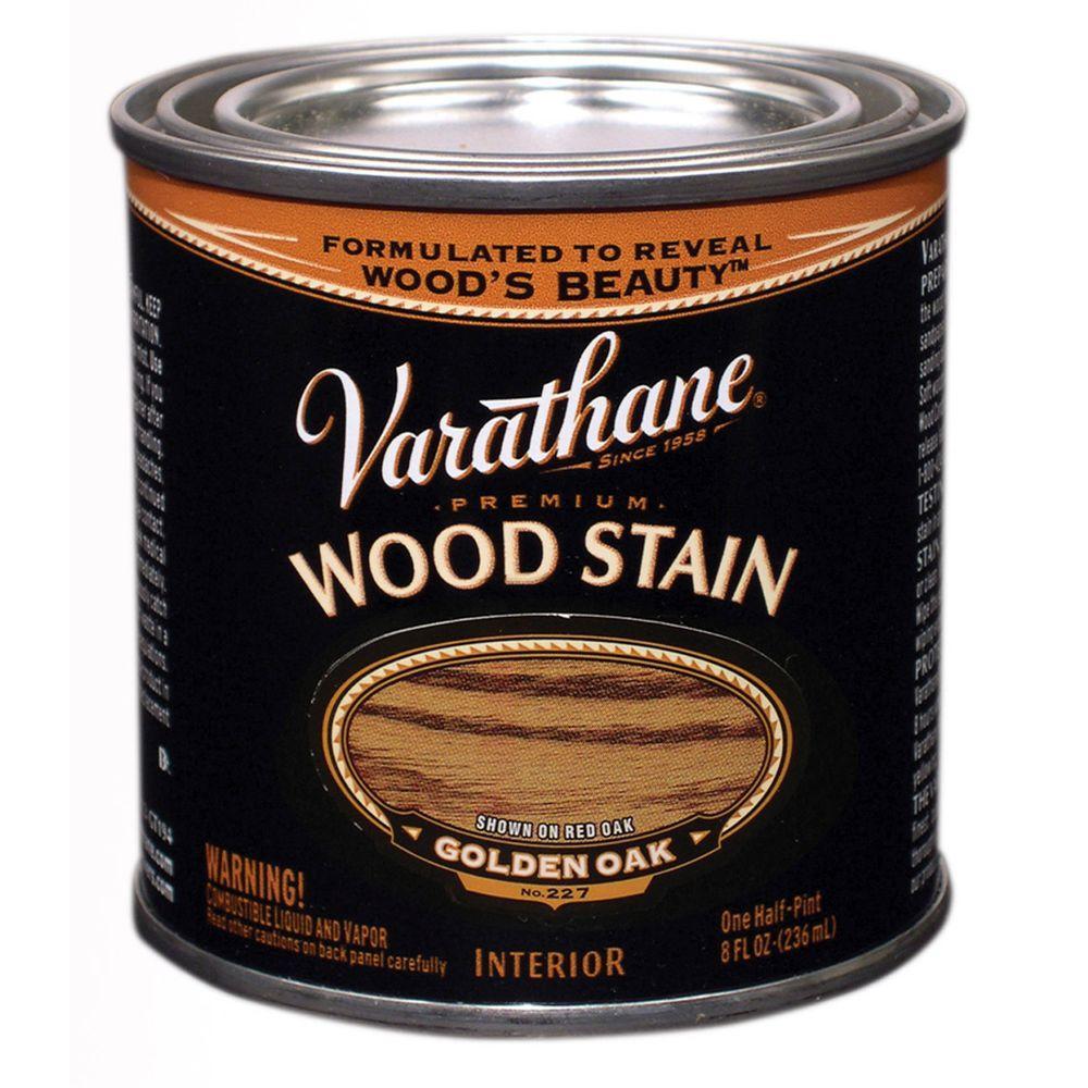 1/2-Pint Golden Oak Premium Interior Wood Stain