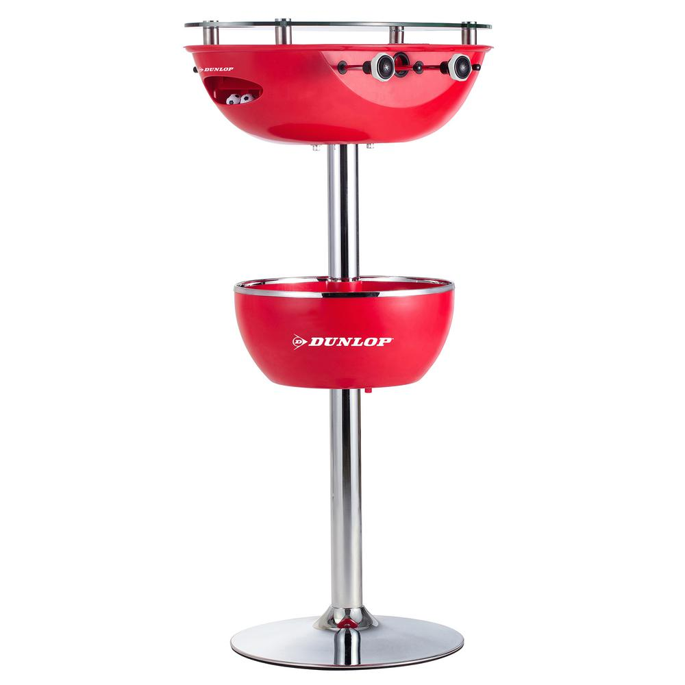 Dunlop 2 in. 1 Foosball Table With Glass Top Built in 2-C...