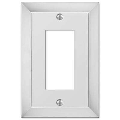 Studio 1 Decora Wall Plate - Chrome