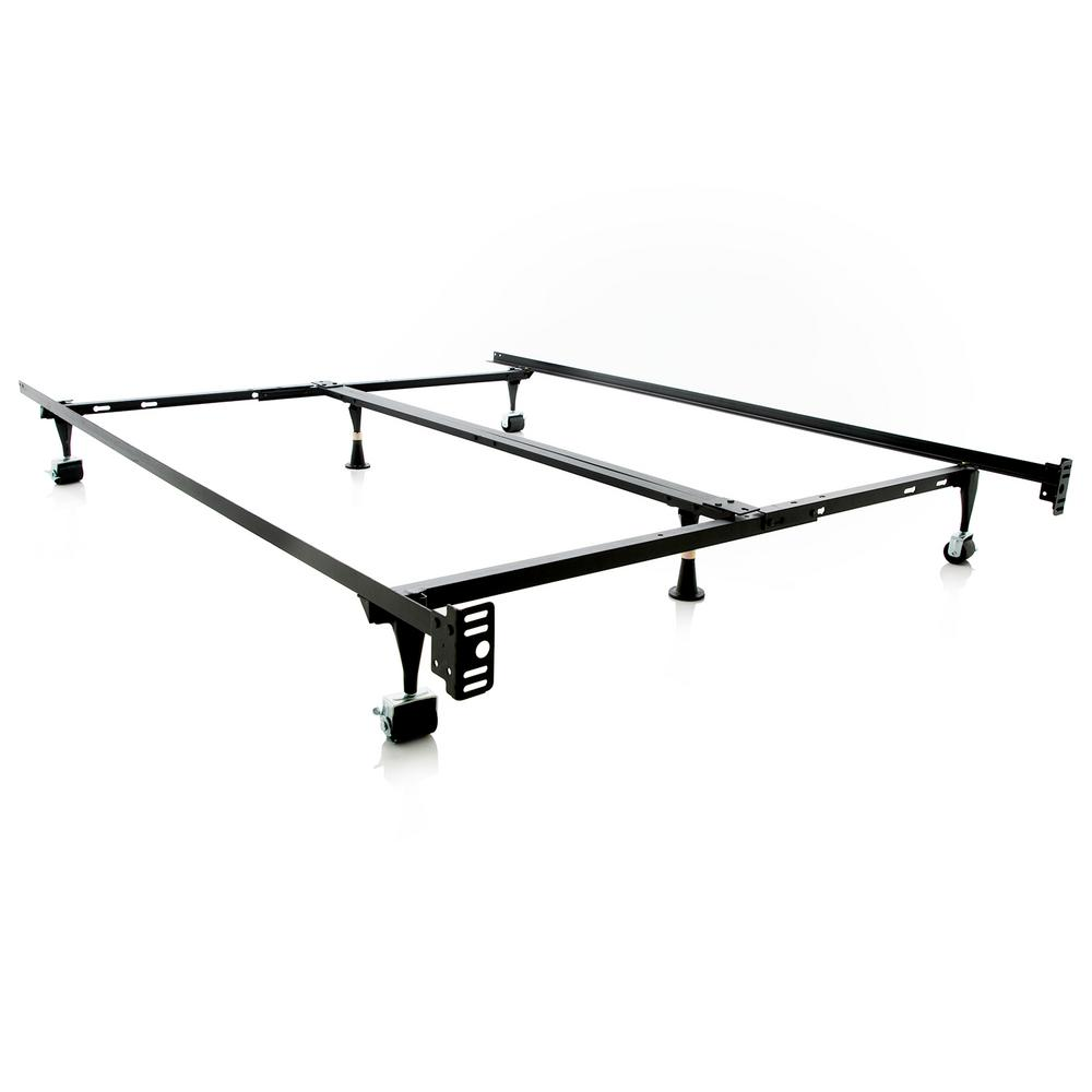 Malouf Adjustable Metal Bed Frame-ST6633BF - The Home Depot