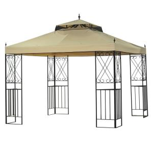 Sparta 12 Ft X 10 Ft Gazebo L Gz288pst 4d The Home Depot