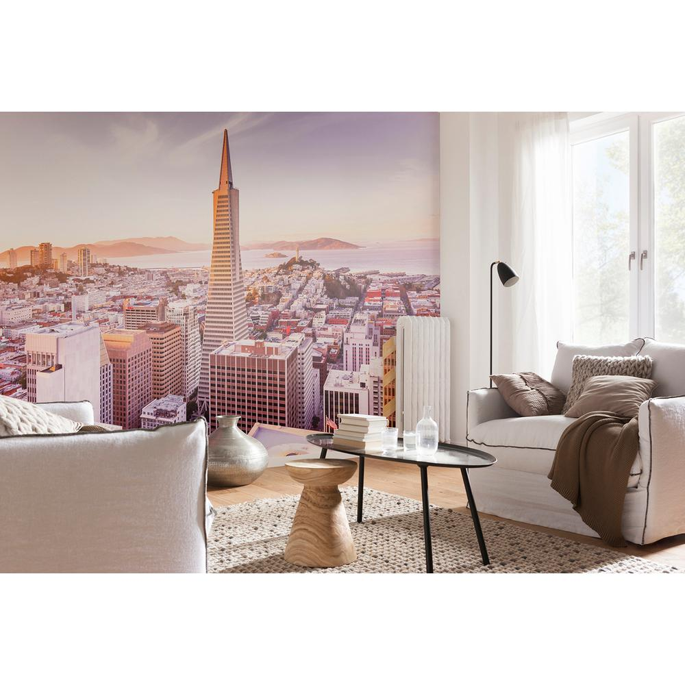 Komar Cityscape Nature San Francisco Morning Wall Mural 8 535 The
