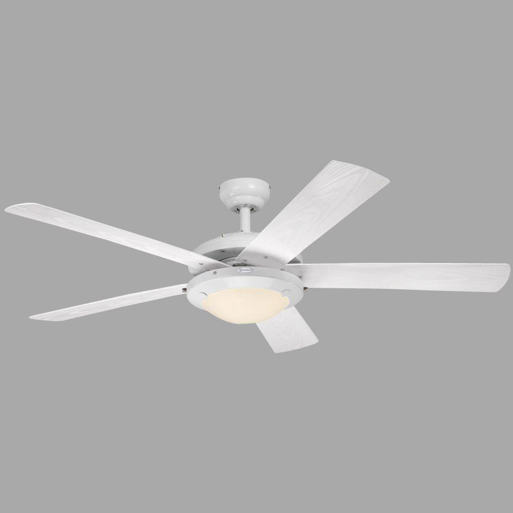 Westinghouse comet 52 in indooroutdoor white ceiling fan 7200800 indooroutdoor white ceiling fan aloadofball Image collections