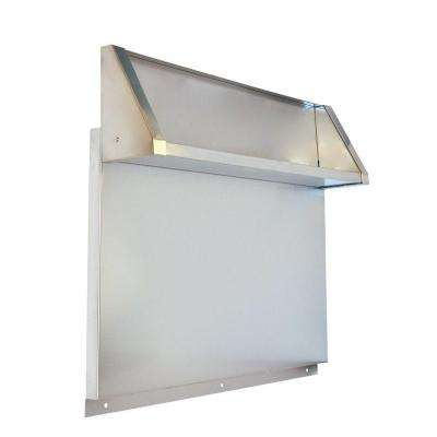 Tall Backguard with Dual Position Shelf - for 48 in. Range or Cooktop