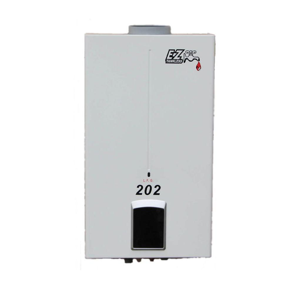 EZ Tankless 202 4.0 GPM 85,000 BTU Natural Gas Portable T...