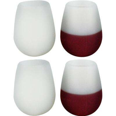 Silicone Wine Glasses (4-Pack)