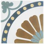 Revival Ring 7-3/4 in. x 7-3/4 in. Ceramic Floor and Wall Tile