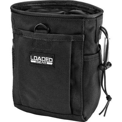 Loaded Gear CX-700 Drawstring Dump Pouch in Black