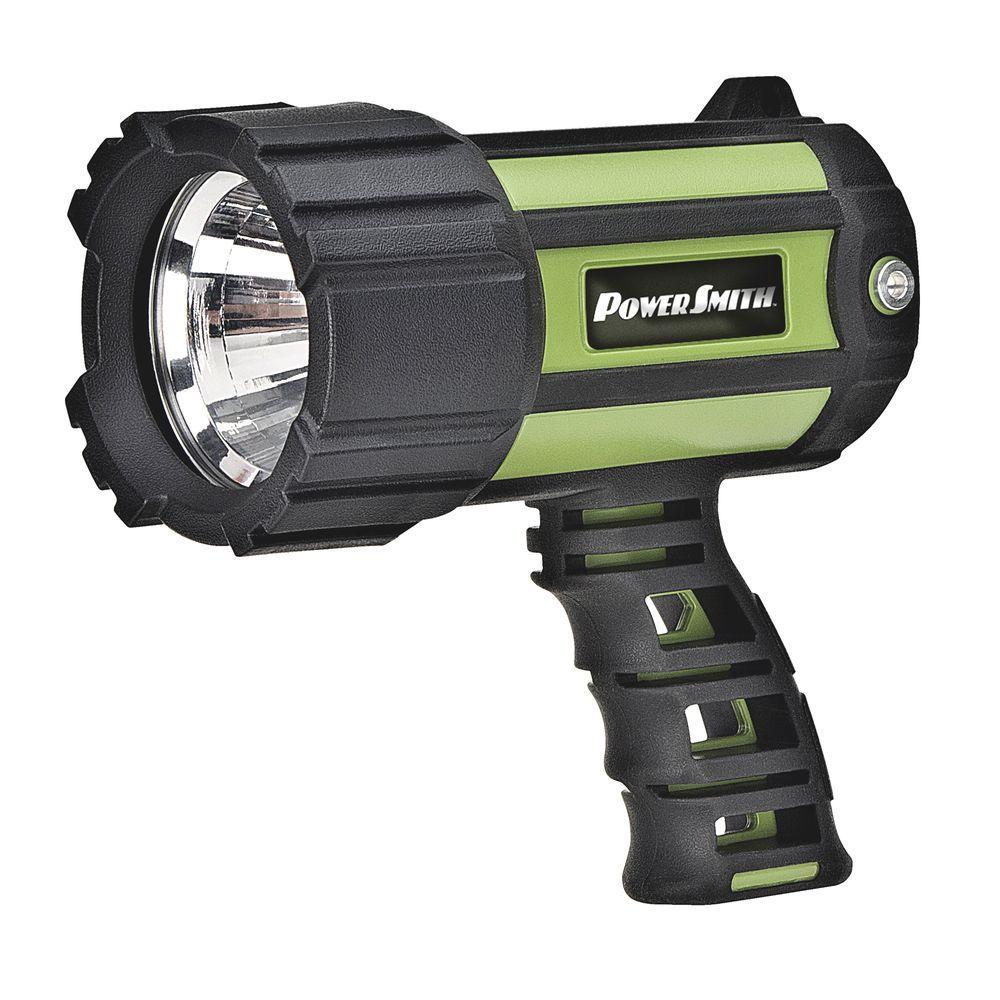 700 Lumen Floatable Waterproof Lithium-Ion LED Spotlight Flashlight with Ergonomic Handle and Charger
