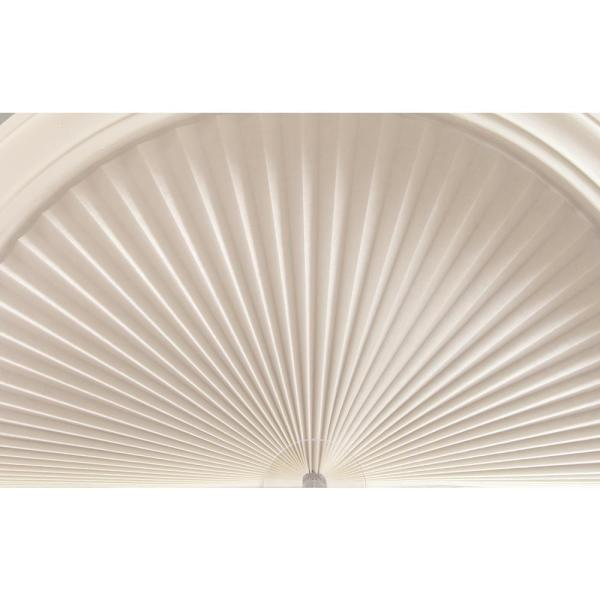 Redi Shade White Fabric Arch Window Shade 72 In W X 36 In L 3206071 The Home Depot
