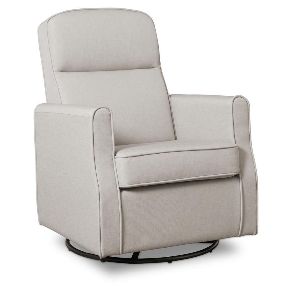 Delta Children Taupe Blair Glider Swivel Rocker Chair