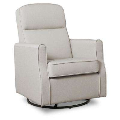 Taupe Blair Glider Swivel Rocker Chair