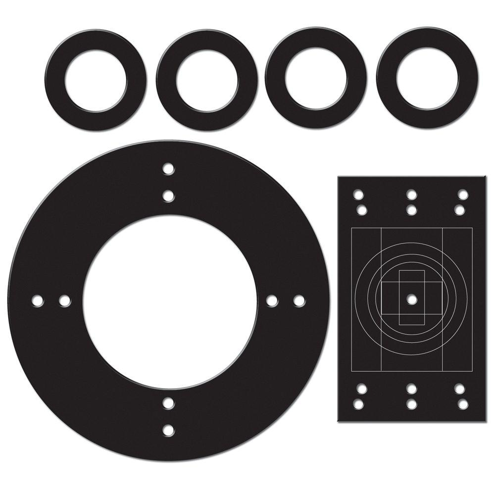 Multi-Purpose Replacement Gasket Kit (1-Gang, 4 in. Round and 4 ...