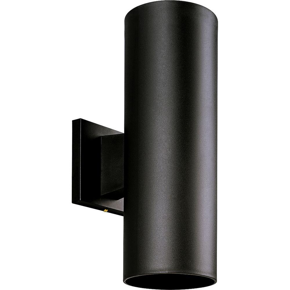 Progress Lighting 2 Light Black Outdoor Wall Lantern