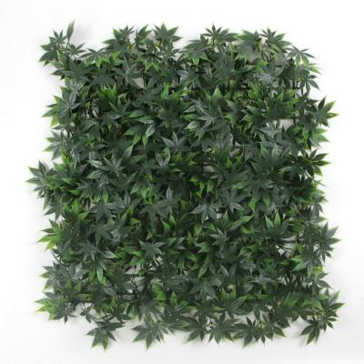 GorgeousHome Artificial Boxwood Hedge Greenery Panels GreenMaple 20 in. x 20 in. (6-Piece)