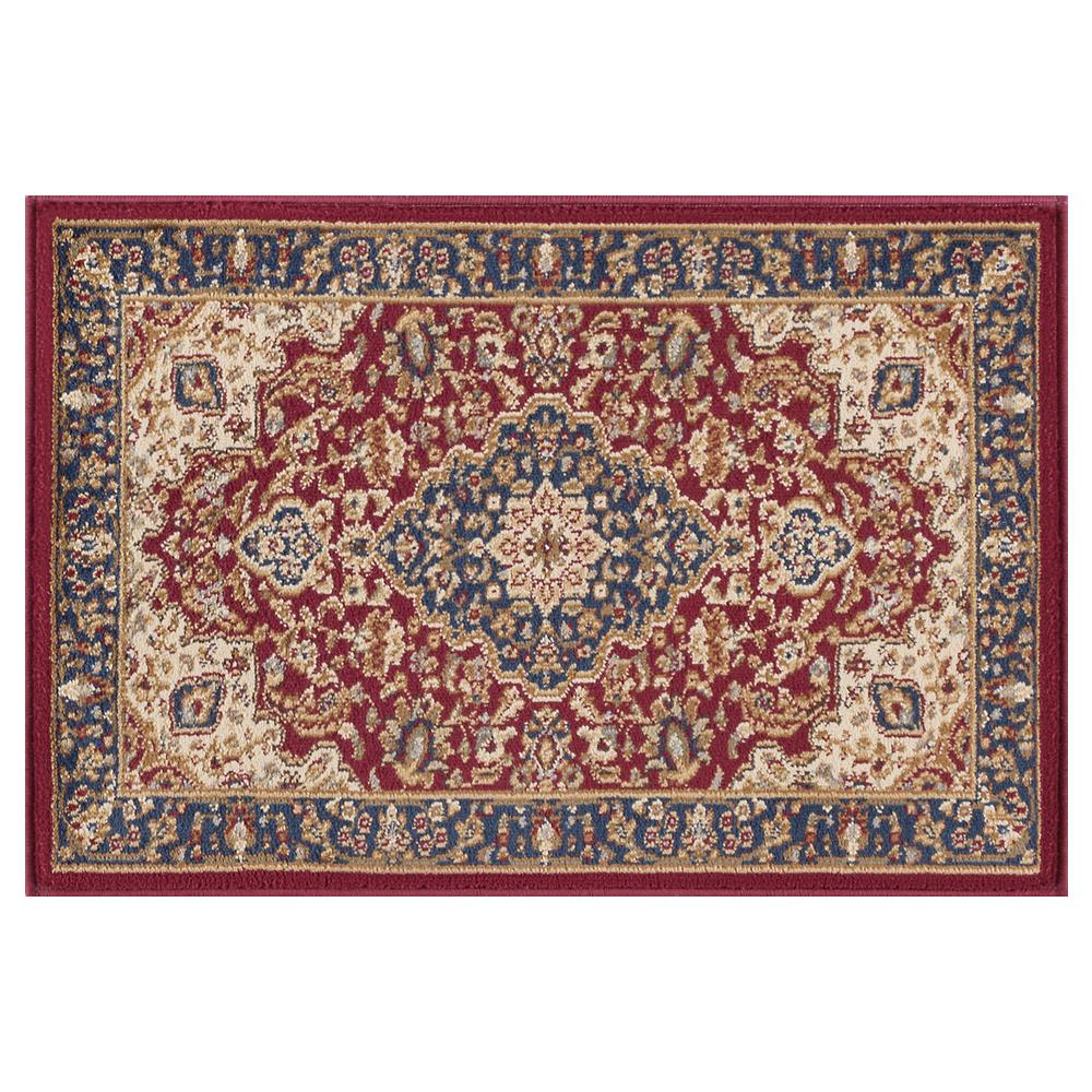 Tayse Rugs Sensation Red 2 ft. x 3 ft. Traditional Area Rug