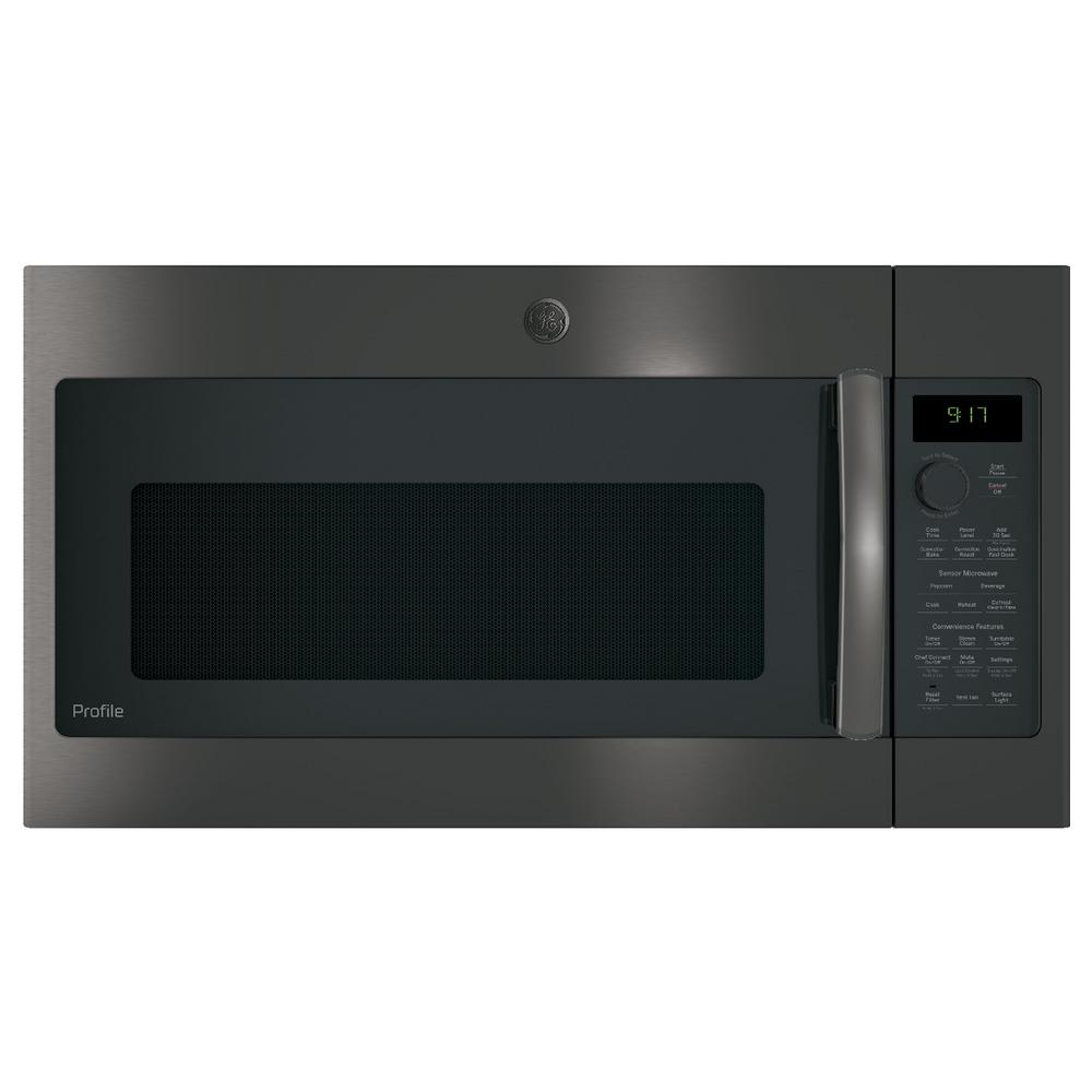 Over The Range Convection Microwave In Black Stainless Steel