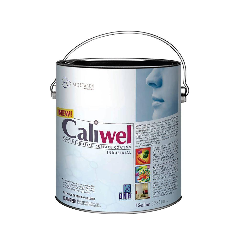 Caliwel Industrial 1 Gal. Opaque Antimicrobial and Anti-Mold Coating for Behind Walls and Basements