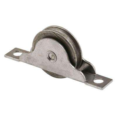 1 in. Steel Ball Bearing Grooved Wheel Closet Door Roller