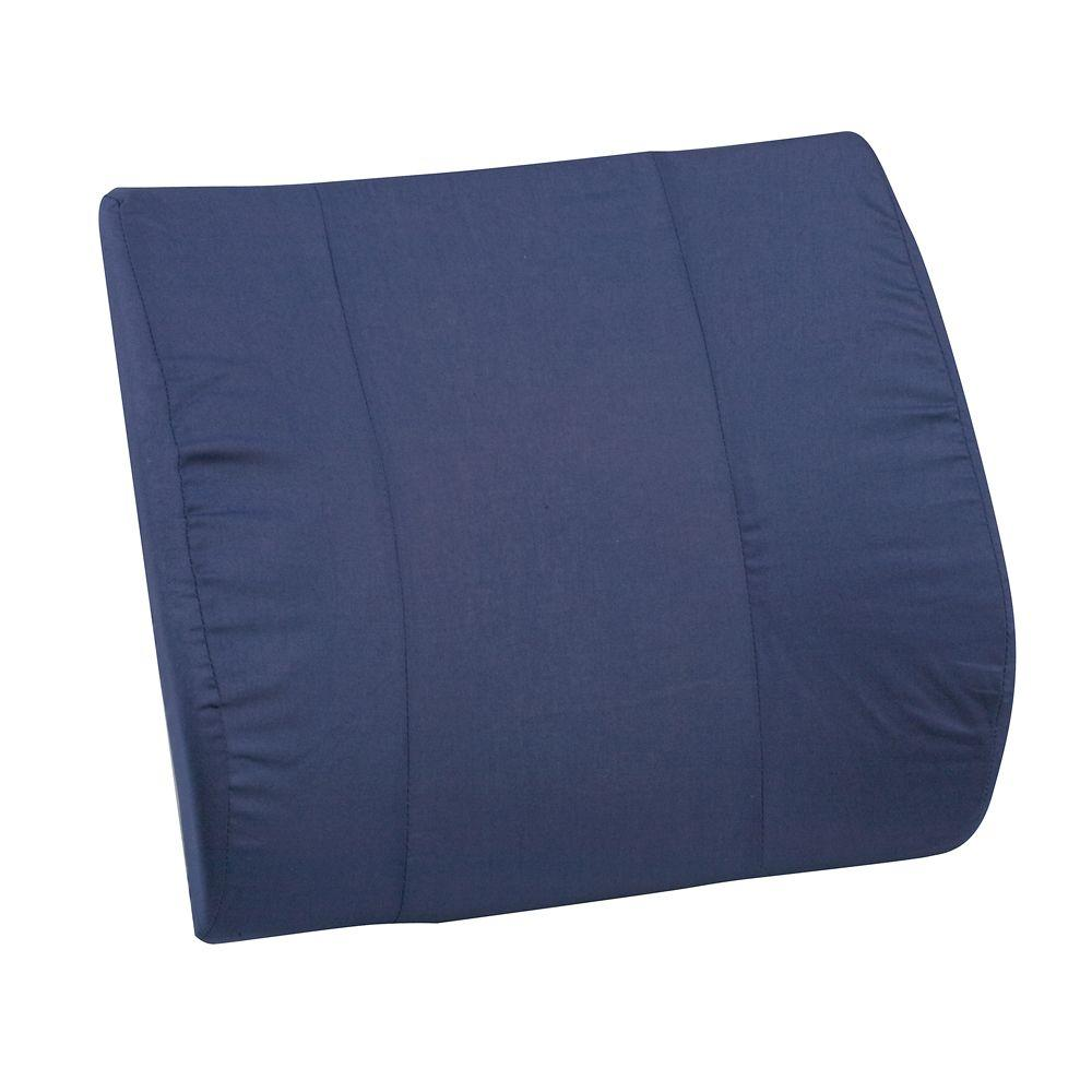 Bucket Seat Lumbar Cushion without Strap in Navy