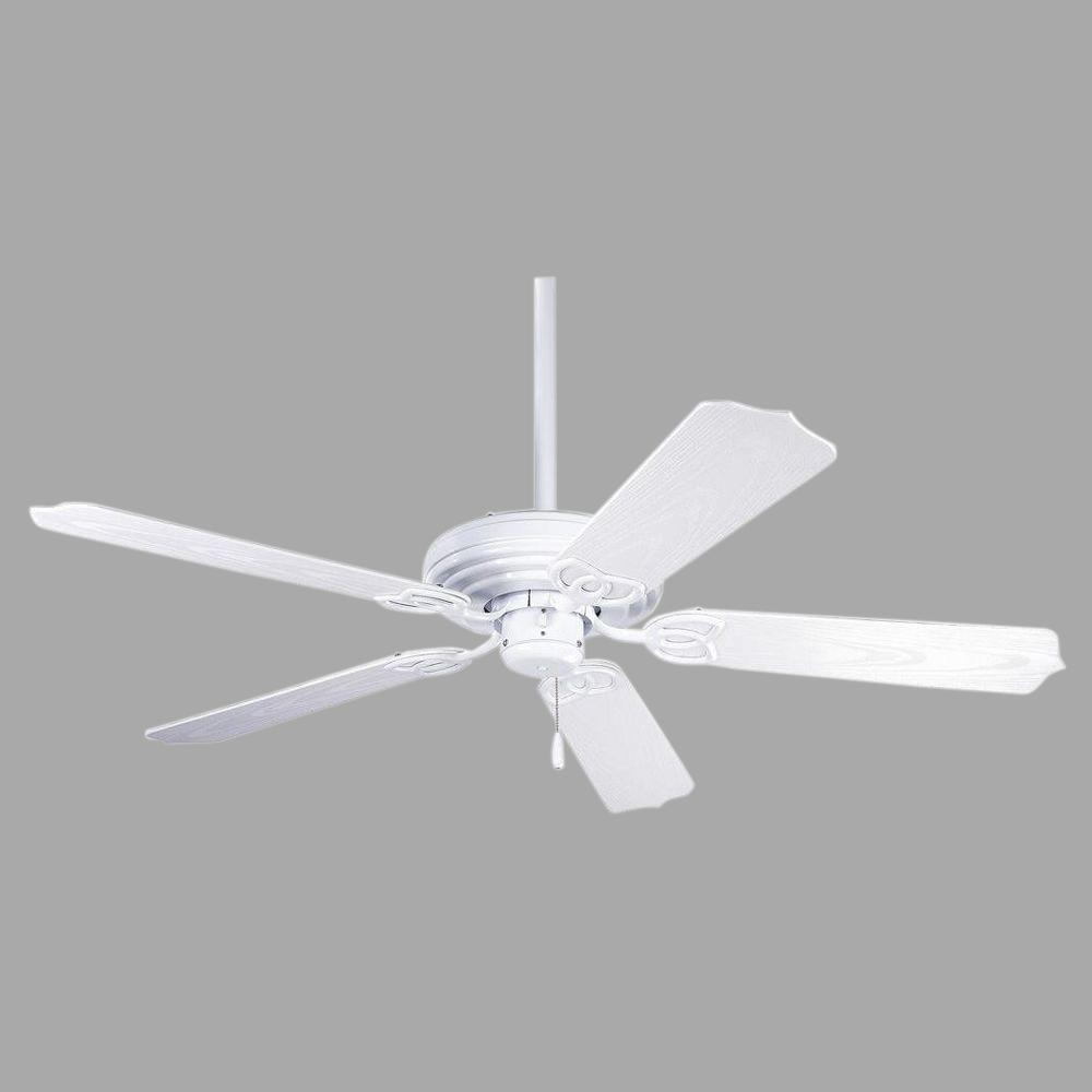Progress Lighting Airpro 52 In Indoor Or Outdoor White Ceiling Fan P2502 30 The Home Depot