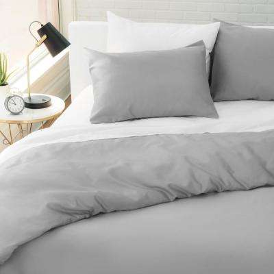 The Kensington Cotton Smoke King Duvet Set