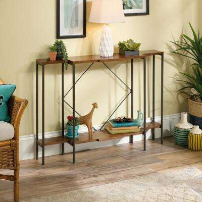 Viabella Collection Warm Cherry Console Table