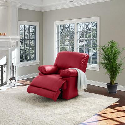 Faux Leather - Red - Chairs - Living Room Furniture - The ...