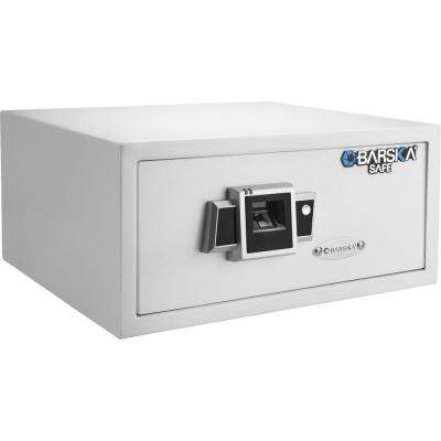 0.78 cu. ft. Standard Safe with Biometric Lock, White