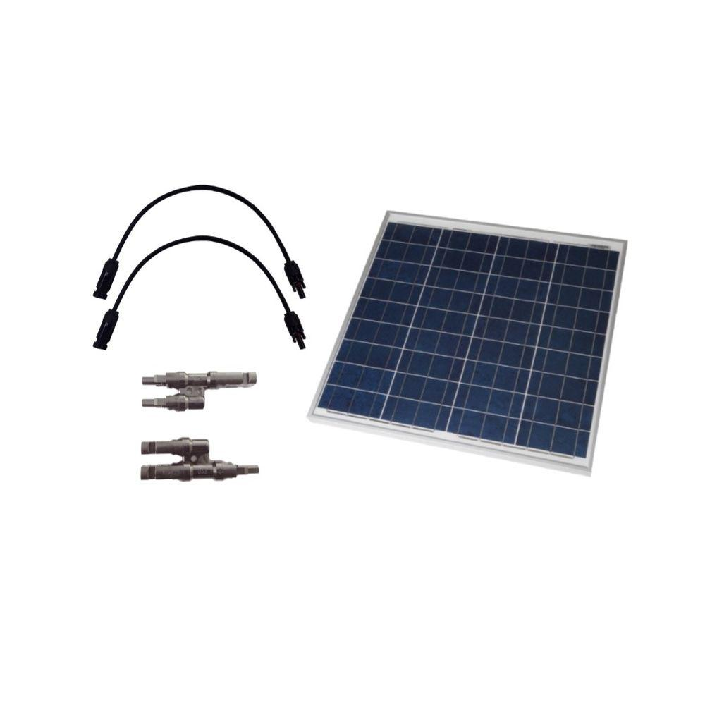Grape Solar 50 Watt Off Grid Solar Panel Expansion Kit Gs