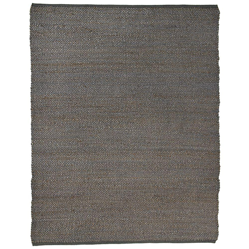 Portland Gray 8 ft. x 10 ft. Jute Area Rug