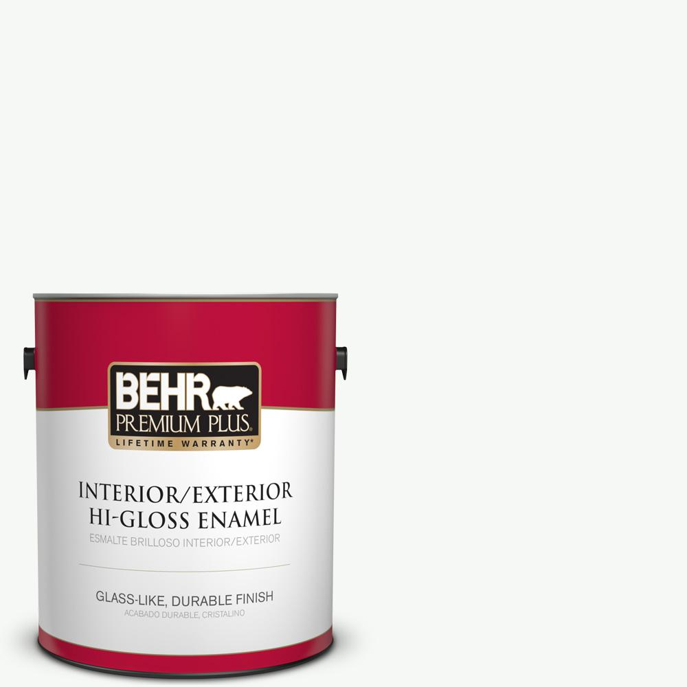 1 gal. #HDC-NT-04G Blanca Peak Hi-Gloss Enamel Interior/Exterior Paint