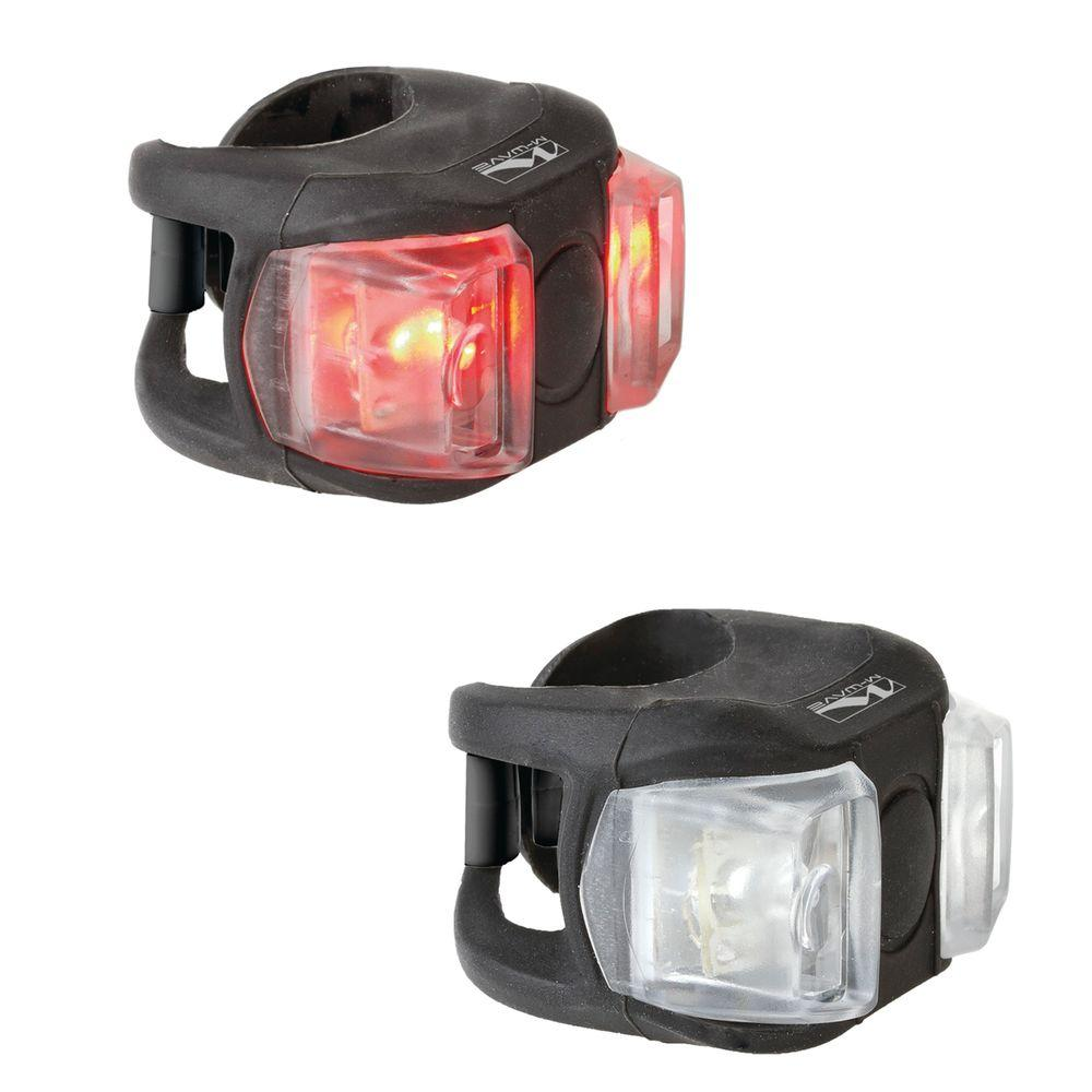 Ventura Cobra Ii Bike Lights With White And Red Led 220599 The