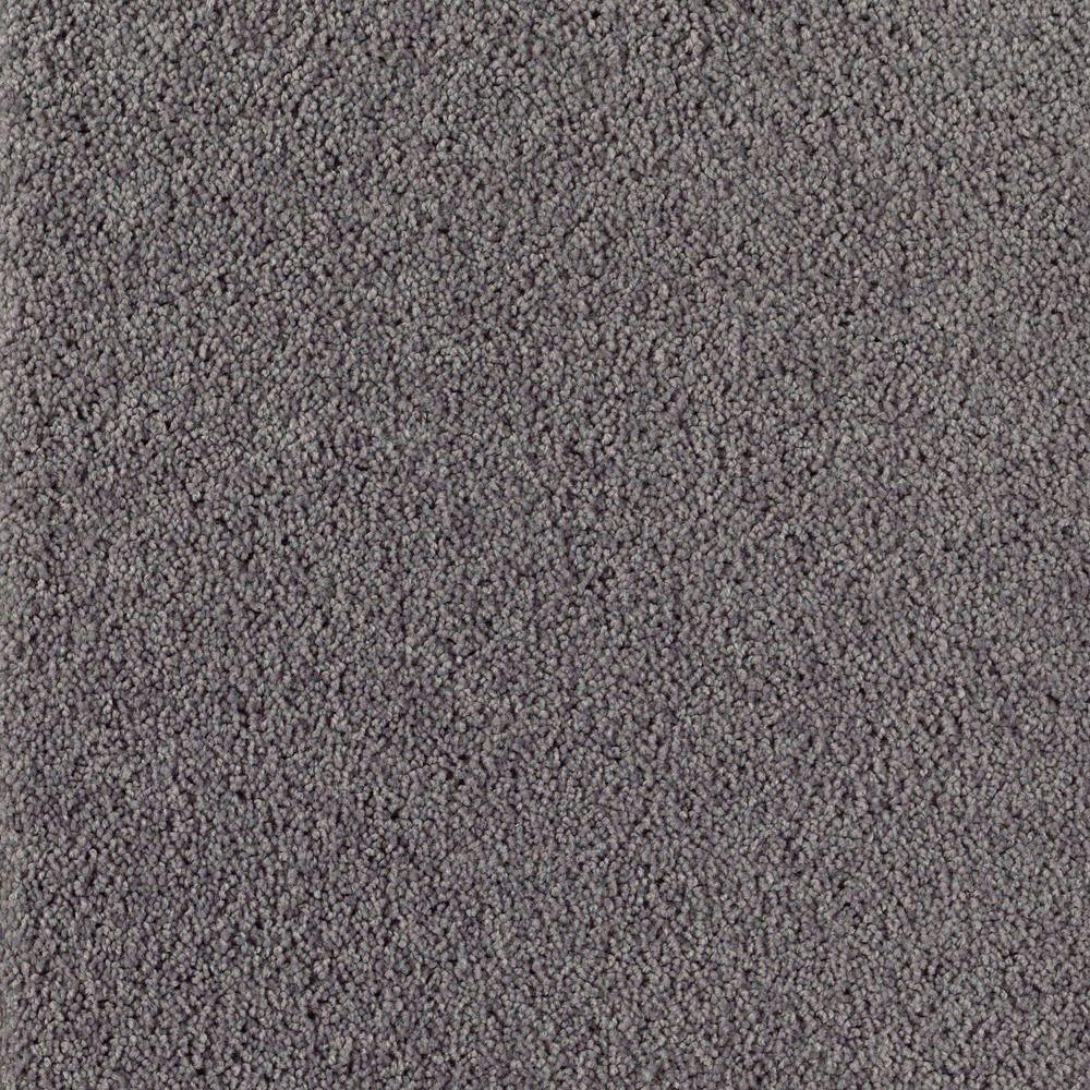 Home Decorators Collection Bel Ridge - Color Black Slate Texture 15 ft. Carpet