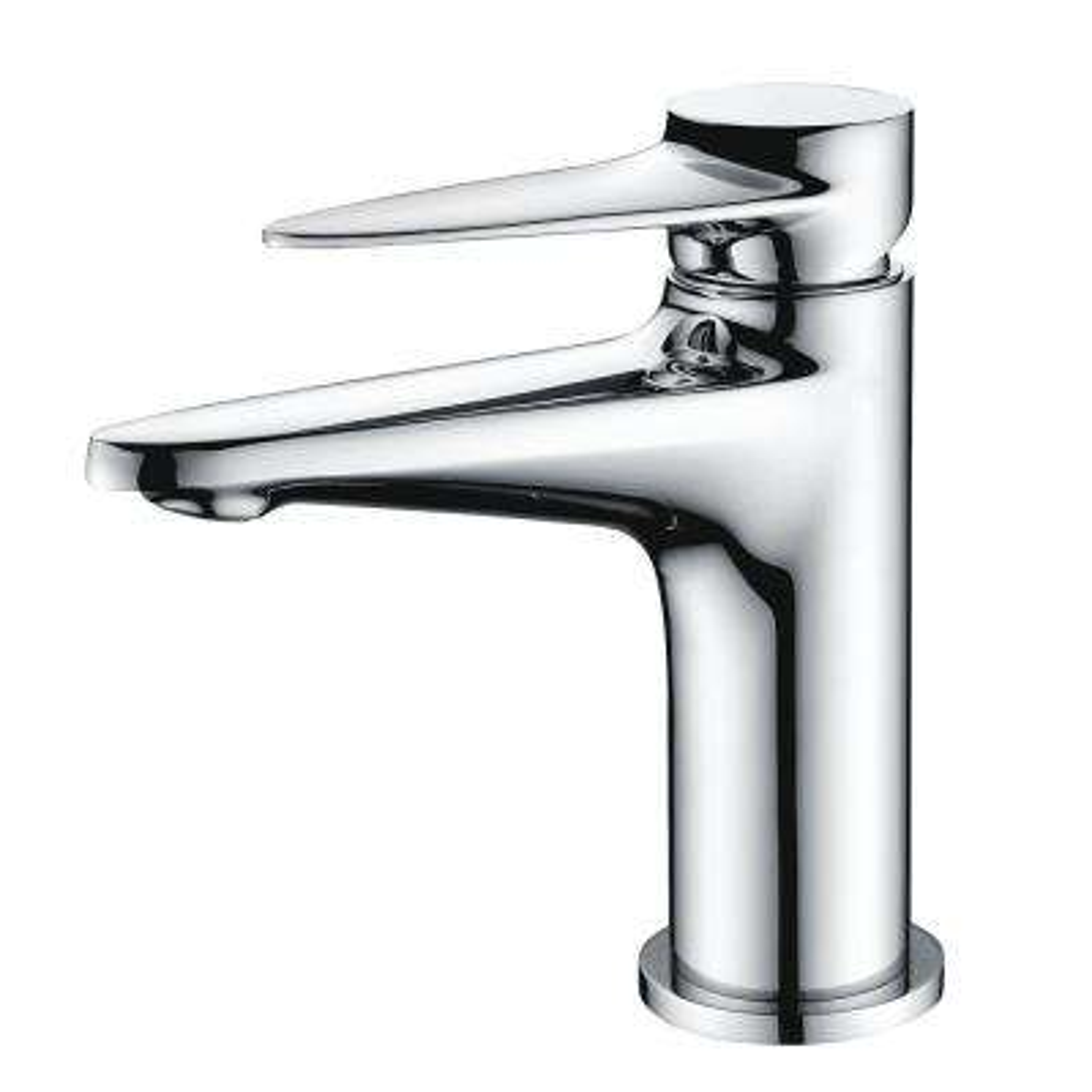AB1770-PC Single Hole Single-Handle Bathroom Faucet in Polished Chrome