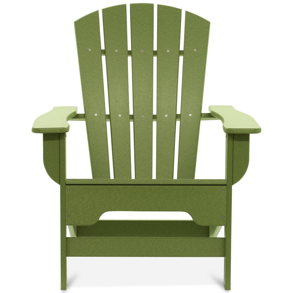 DUROGREEN Boca Raton Lime Green Recycled Plastic