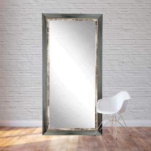 Click here to buy  32 inch x 71 inch Weathered Harbor Floor Framed Mirror.