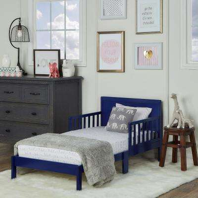 Brookside Royal Blue Toddler Adjustable Bed