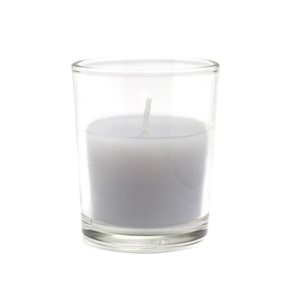 Zest Candle 2 in. Lavender Round Glass Votive Candles (12-Box)