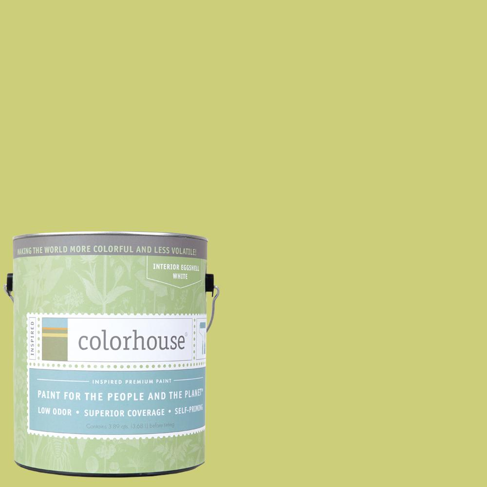 Interior Paint Coverage Per Gallon: Colorhouse 1 Gal. Thrive .02 Eggshell Interior Paint