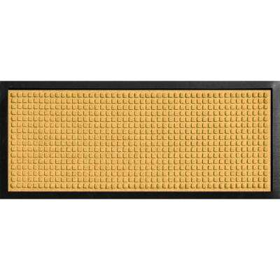 Aqua Shield Boot Tray Squares Yellow 15 in. x 36 in. Door Mat