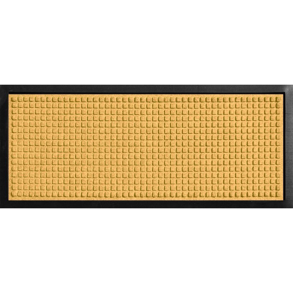 Aqua Shield Boot Tray Squares Yellow 15 in. x 36 in. Door Mat