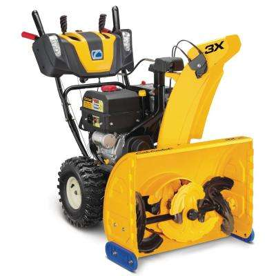 3X 26 in. 357 cc Three-Stage Gas Snow Blower with Electric Start and Steel Chute, Power Steering and Heated Grips