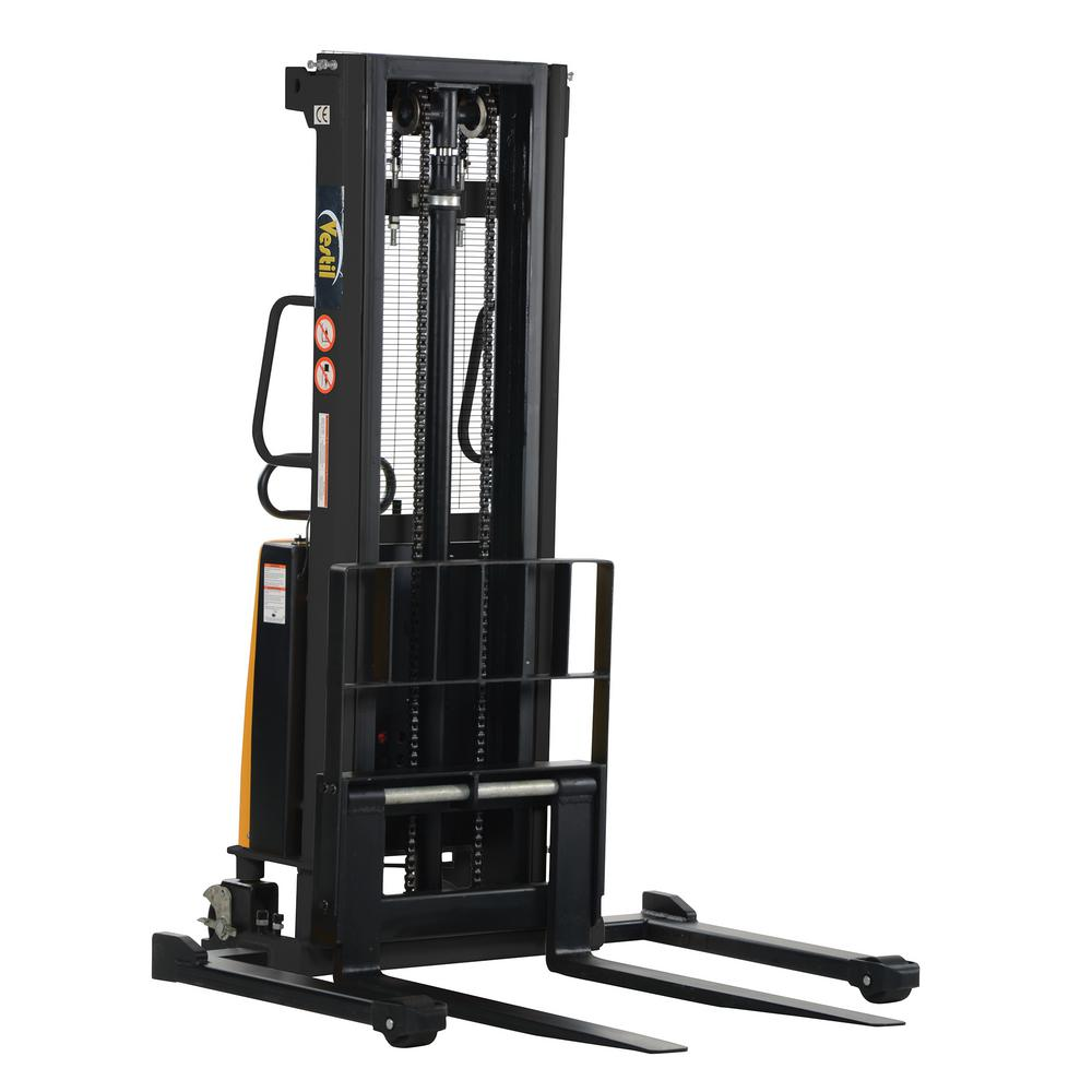2,000 lb. Capacity 118 in. High Stacker with Powered Lift with