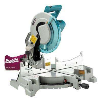 15 Amp 12 in. Corded Single-Bevel Compound Miter Saw with 40T Carbide Blade and Dust Bag