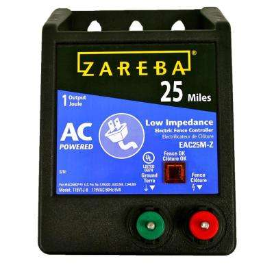 25 Mile AC Low Impedance Energizer