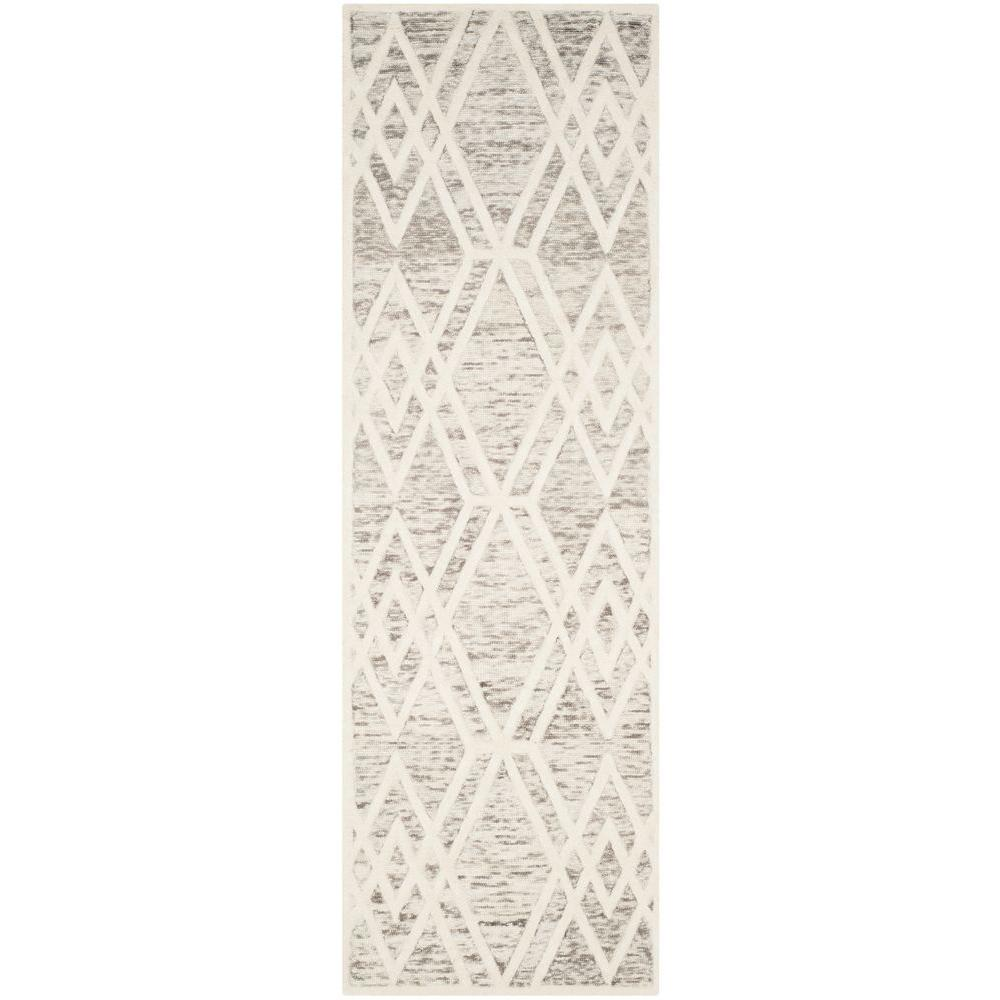 Cambridge Light Brown/Ivory 2 ft. 6 in. x 8 ft. Runner