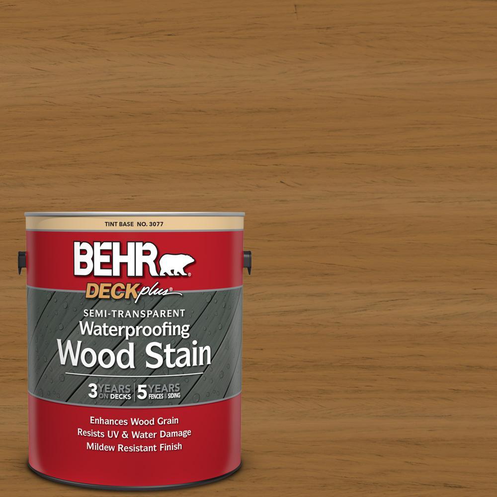 1 gal. #ST-146 Cedar Semi-Transparent Waterproofing Exterior Wood Stain