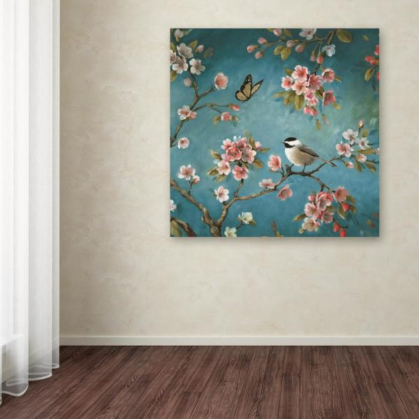 "Trademark Fine Art 14 in. x 14 in. ""Blossom II"" by Lisa"
