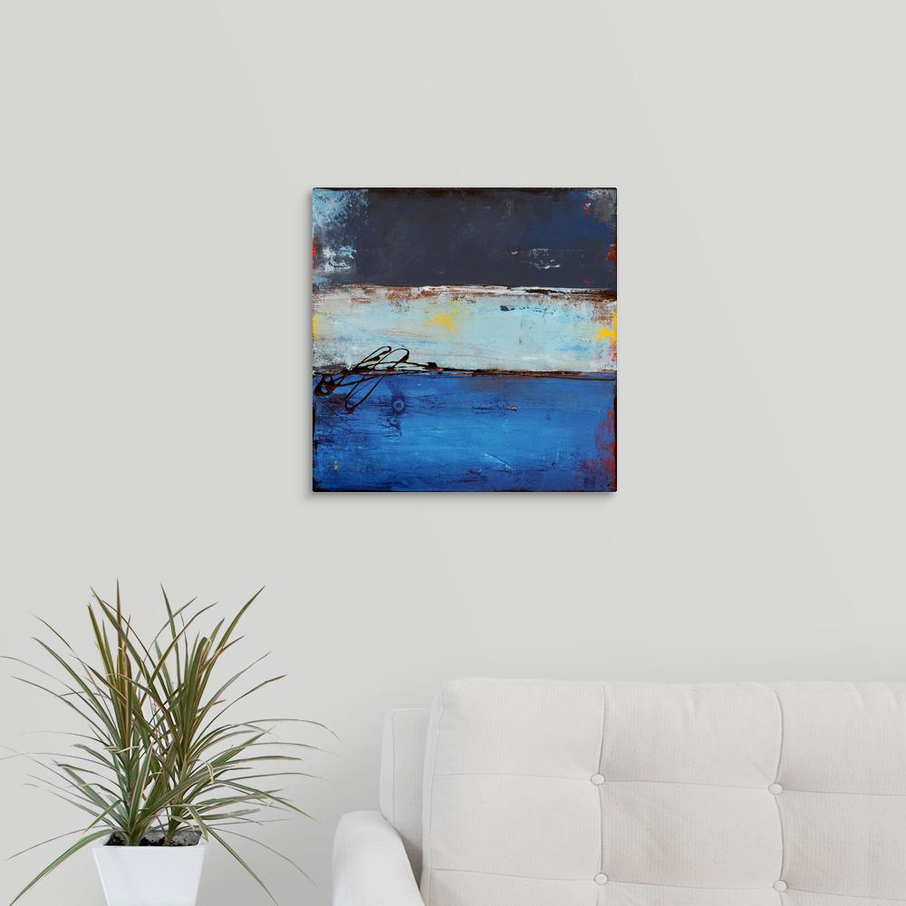 Greatcanvas Blue Dreams In Rio By Erin Ashley Canvas Wall Art 2252893 24 16x16 The Home Depot